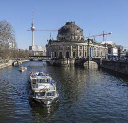O Museu Bode, em Berlim, onde a moeda foi roubada.