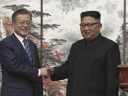 Pyongyang também inutilizará sua central nuclear se os EUA derem passos recíprocos, anunciou o presidente sul-coreano, Moon Jae-in, durante a cúpula coreana