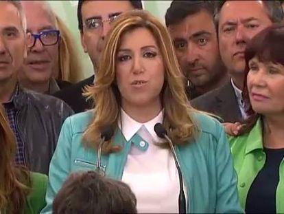 Susana Díaz consegue uma vitória clara nas eleições andaluzas