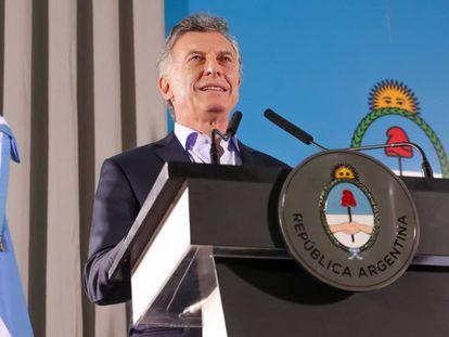 O presidente argentino, Mauricio Macri, em uma fotografia de arquivo.