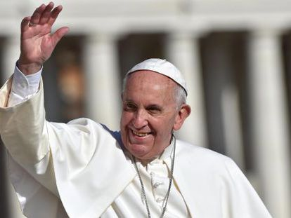 O papa Francisco neste sábado.