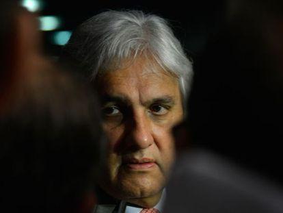 O senador Delcídio do Amaral, em imagem de setembro.