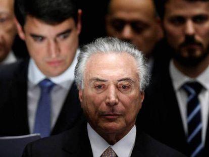 O presidente brasileiro Michel Temer.