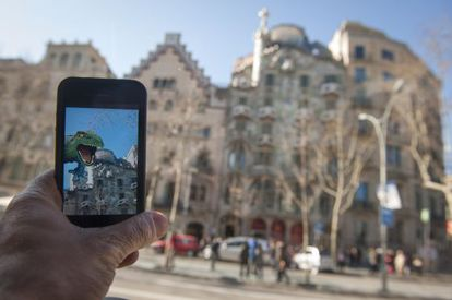 Um aplicativo para visitar os pontos turísticos de Barcelona.
