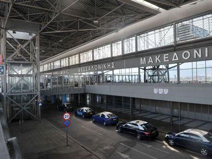 Aeroporto de Tesalónica.