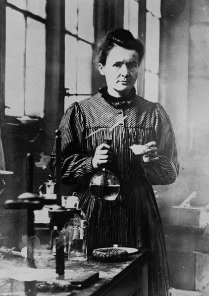 Marie Curie, a mais nova de cinco irmãos.
