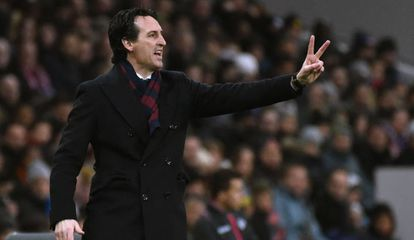 Unai Emery, atual técnico do Paris Saint-Germain.
