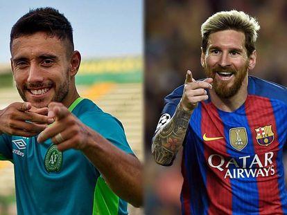 Chapecoense e Barcelona jogam nesta segunda-feira.