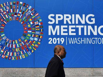 Sede do Fundo Monetário Internacional em Washington.