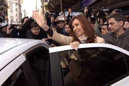 A ex-presidenta da Argentina, Cristina Kirchner.