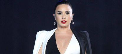 Demi Lovato em show no Rock in Rio Lisboa em junho passado.