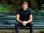 """This handout picture posted on September 23, 2020 on the Instagram account of @navalny shows Russian opposition leader Alexei Navalny sitting on a bench in Berlin. - Russian opposition leader Alexei Navalny, who the West believes was poisoned with a Soviet-era nerve agent, has been discharged from hospital after a month, his doctors in Berlin said on September 23, 2020. (Photo by Handout / Instagram account @navalny / AFP) / RESTRICTED TO EDITORIAL USE - MANDATORY CREDIT """"AFP PHOTO / Instagram account @navalny / handout"""" - NO MARKETING - NO ADVERTISING CAMPAIGNS - DISTRIBUTED AS A SERVICE TO CLIENTS - ALTERNATIVE CROP -"""
