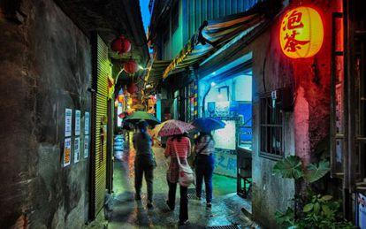 As labirínticas ruas de Jiufen, em Taiwan, uma das locações de 'Silence', o próximo filme de Martin Scorsese.