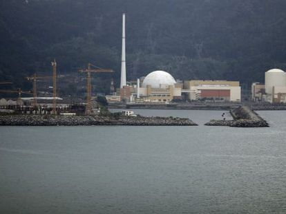 Complexo nuclear de Angra dos Reis, a 240 km do Rio.
