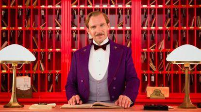 Ralph Fiennes ('O grande hotel Budapeste').