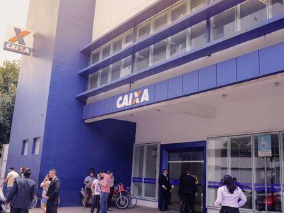Agência da Caixa em Macapá.