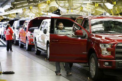 Fábrica de montagem do modelo F-150 da Ford Motor em Kansas City.