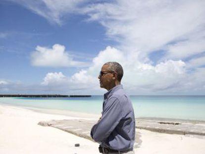 O presidente dos EUA visita Papahānaumokuākea, a maior área protegida do mundo, um santuário natural que é lar de mais de 7.000 espécies marinhas