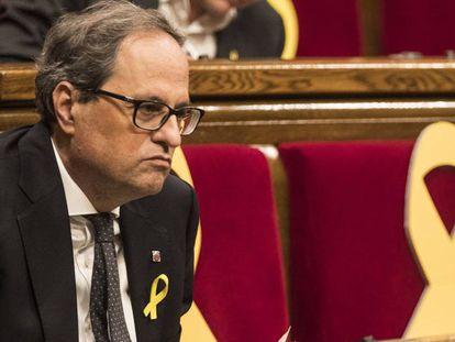 Quim Torra, novo presidente da Catalunha.