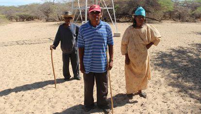 Moradores da fronteira entre a Colômbia e a Venezuela.