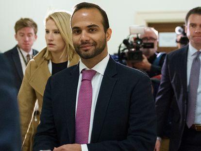George Papadopoulos, ex-assessor de Trump, em uma imagem de arquivo.