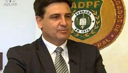 O delegado Fernando Segóvia, futuro chefe da Polícia Federal