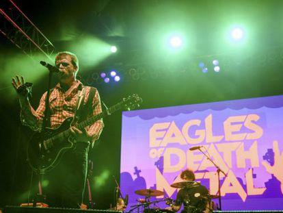Jesse Hughes, da banda Eagles of Death Metal.