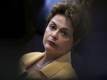 Dilma durante evento no último dia 2, em Brasília.