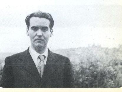 Fotografia dos anos 30 de Federico García Lorca.