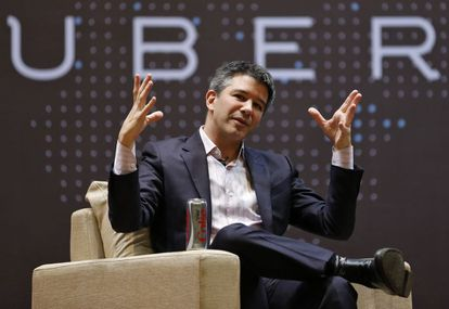 Travis Kalanick, fundador e executivo-chefe do Uber.