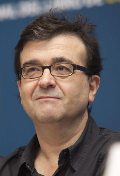 O autor Javier Cercas, na FIL de Guadalajara.