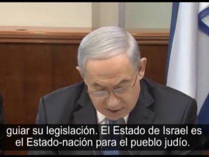 "Israel impulsiona uma lei do ""Estado judeu"""