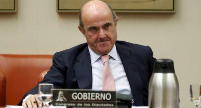 Luis de Guindos, ministro da Economia.