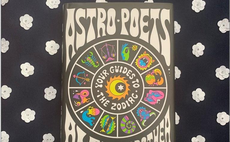 Capa do livro 'Astro Poets' na conta de Instagram de seus autores.