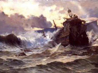 'A Destruição da Invencível Armada Invencível', de José Gartner de la Peña.
