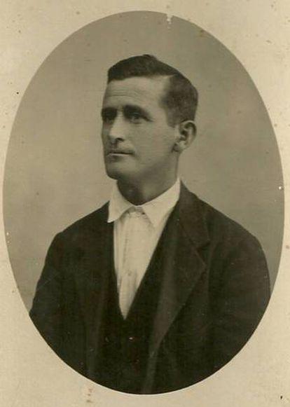 Rafael Martínez Moro, um dos assassinados em La Pedraja.